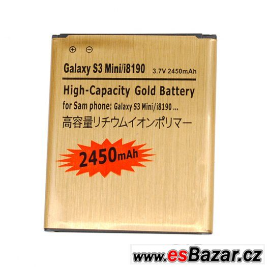 Baterie Li-ion pro Sam.Galaxy S3 mini i8190 a Ace 2- 2450mAh