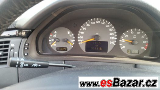 mercedes benz E 240 AVANTGARDE rv.2002 85000KM TOP STAV