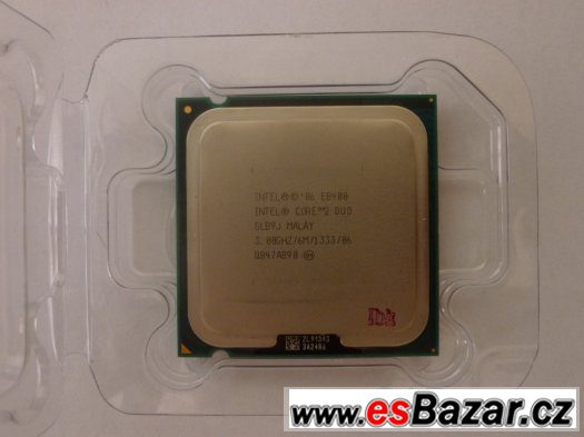 INTEL E8400 - CORE DUO  -  3,0 GHZ 65W