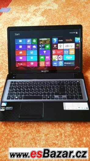Notebook Packard Bell 17,3 s grafikou 2Gb a Windows 8.1