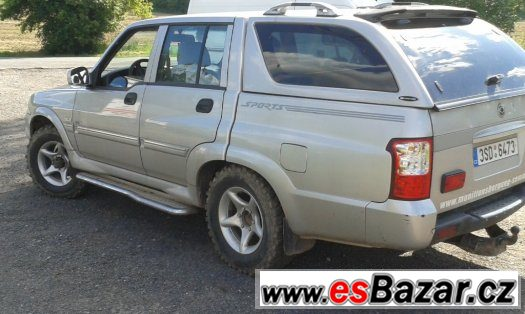 Prodá SsangYong Musso SPORTS 2.9TD 4x4 88KW