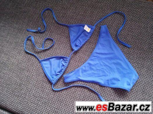 Plavky dívčí/dámské vel. S nošené. Cena 50 Kč