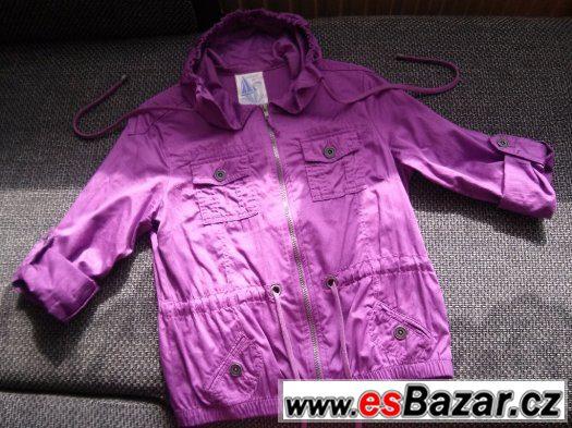 Dívčí/dámská lehká bunda-košile zn. NEXT vel. asi 38.