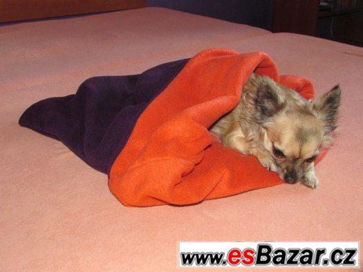 Tulipytlík pro psy (malá plemena - čivava, jorkšír, atd.)
