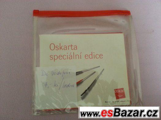 Vodafone sim karta , Kredit 835,-kč , Prodám za 490,-kč.