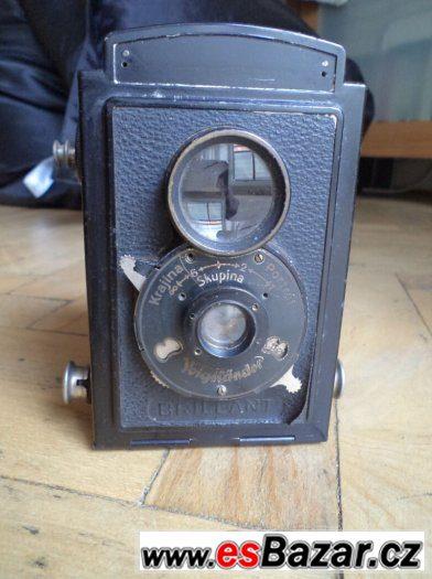Prodám historickýfotoaparát Brillant Voigtlander, cca 1932