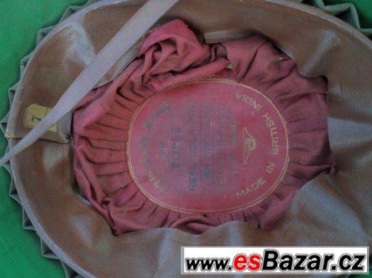 Prodám historický klobouk (SOLA) z British India z r.1930