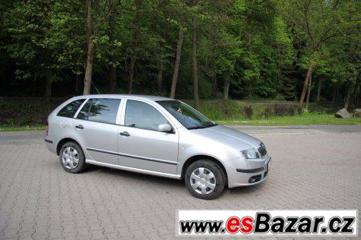 Prodám Škoda fabia 1.2 htp, 47 KW  kombi