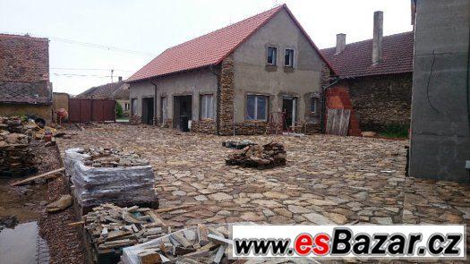 Silná kamenná dlažba, Rula v akci za 250 Kč/m2 + metr navíc