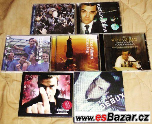 Robbie Williams - 7 CD diskografie