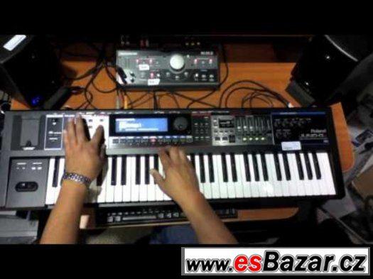 špičkový syntezátor-workstation Roland G-i