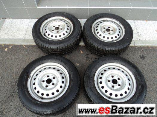 Pneu 7mm + disky na VW TRANSPORTER, SHARAN, ALHAMBRA, GALAXY