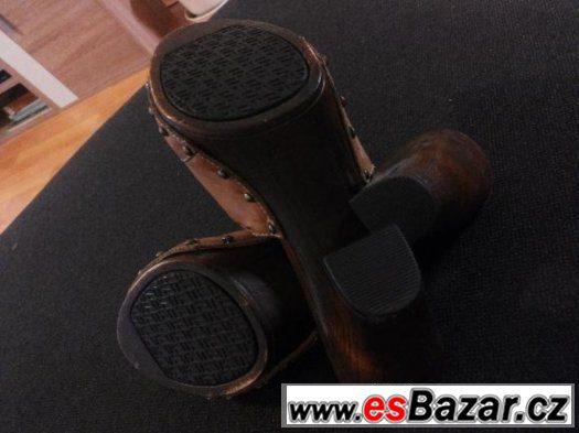 Nenošené kožené boty