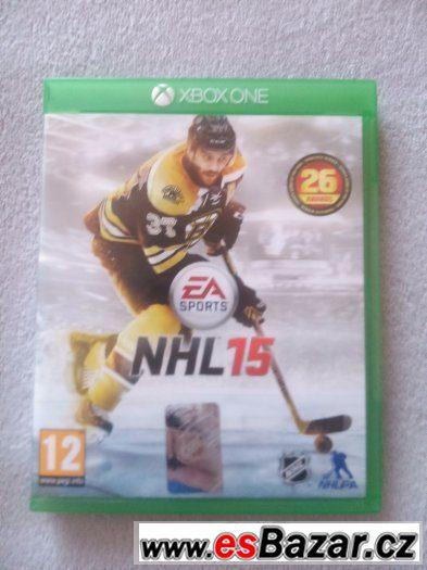 Prodám NHL 15 na xbox one