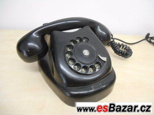 Historický telefon Tesla