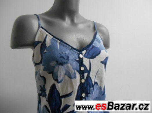 Dámské letní šaty květované Marks&Spencer VEL 12
