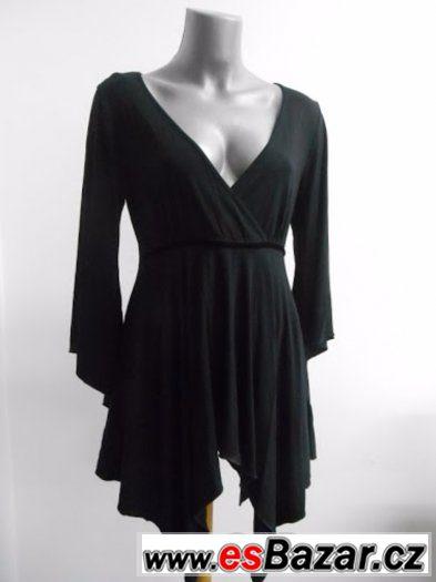 Elegantní černá halenka  Dorothy Perkins VEL 12