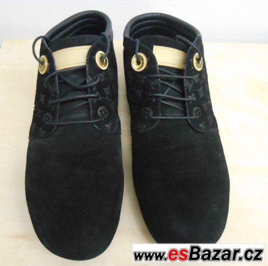 Luxusní kožené boty Louis Vuitton