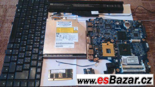 Prodám díly k k notebooku HP 530, levně, funkční, nabídněte