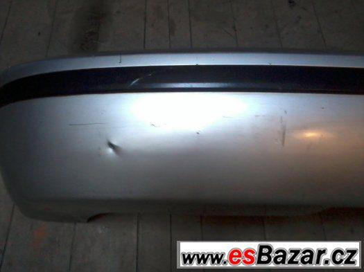 Zadní nárazník Škoda Fabia I combi stříbrná metalíza