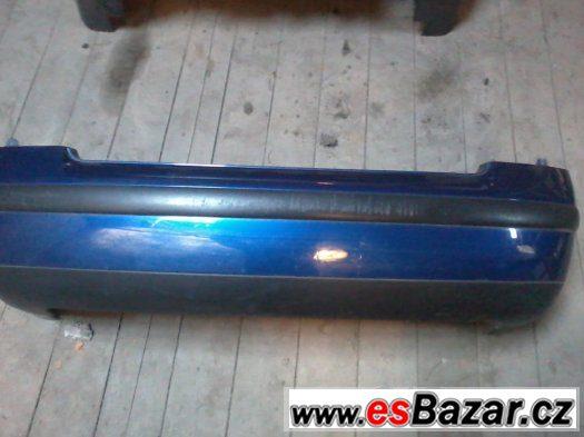 Zadní nárazník VW Passat B 5.5 sedan modrý