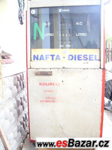 Prodám výdejní stojan pohonných hmot