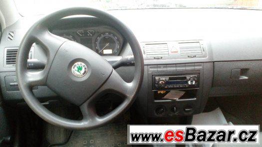 Škoda Fabia 1,2 HTP, lehce bouraná, 06/2005