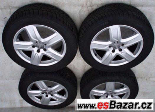Letni pneu 235/55 R18 - ORIGINAL alu kola Audi