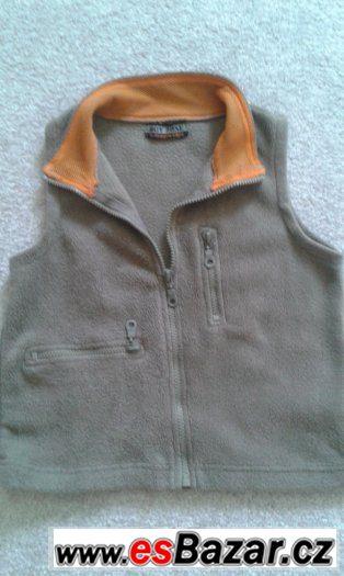 Fleecová vesta 3-4 roky