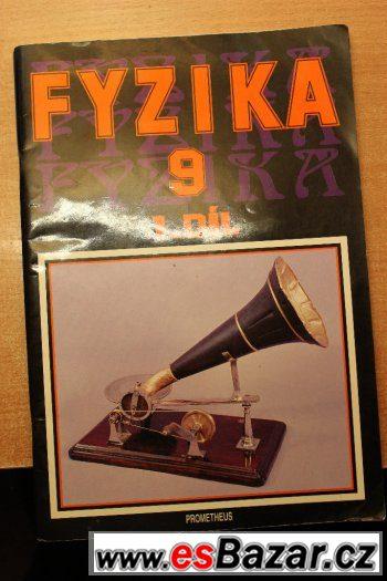 Fyzika 9. 1. díl Martin Macháček