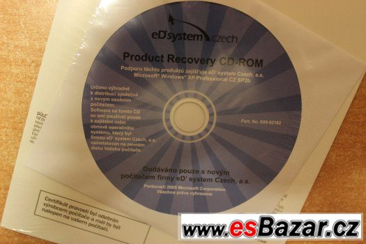 Microsoft Windows XP Professional Pro CD-ROM