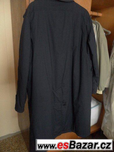 Prodám tmavomodrý propínací pánský kabát vel.XL