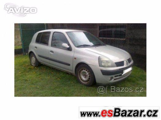 Renault clio II 1.5 DCI, 5 dveř,48 kw