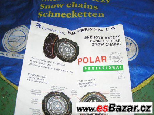 Sněhové řetězy velikost č.17