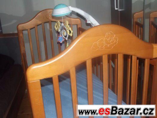 postýlka s matrací