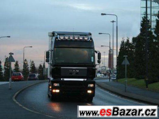 náhradní díly na nákladní vozidla značky DAF, MAN, IVECO ATD