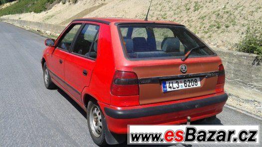Škoda Felicia 1.6 Mpi rv.97 STK platná,TAŽNÝ