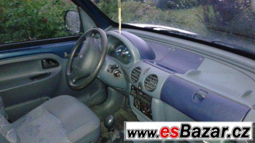 Renault Kangoo 1.4i rv.98 TAŽNÝ-značky v depozitu