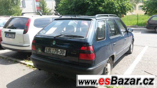 Škoda Felicia KOMBI 1.3 rv.97 STKplatná,tažné zařízení