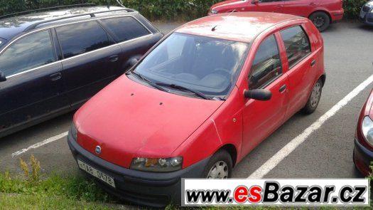 Fiat Punto 1.2i rv.2001 STK NOVÁ