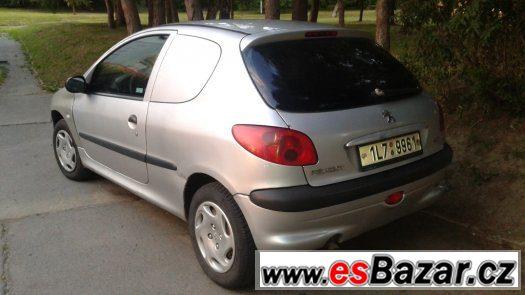 Peugeot 206 WAN +  1.4i  rv.2003 ,STK