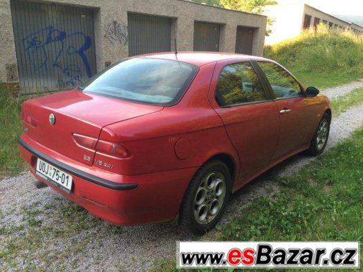 Alfa Romeo 156 2,5 V6 141kW klima, nová technická