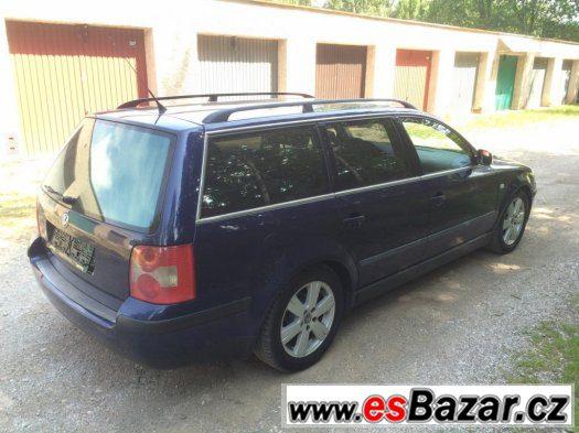 Volkswagen Passat 1,9 TDi 96kW, Climatronic, nová technická