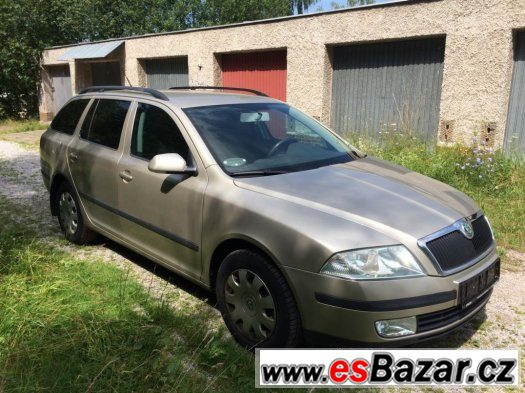 Škoda Octavia Combi 2,0 TDi 103kW, tažák, poctivé KM