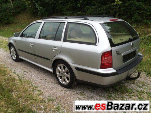 Škoda Octavia Combi 1,9 TDi 81 kW Laurin Klement