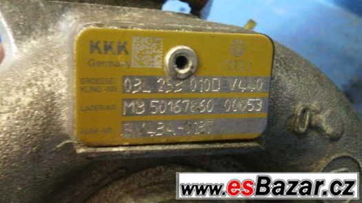 Turbo Octavia 2  Superb 2  CR 125kw