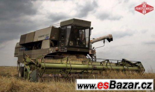 SKlizen 2015 ŽNĚ Výmlat obili kombajn E516B BEZDRTICE