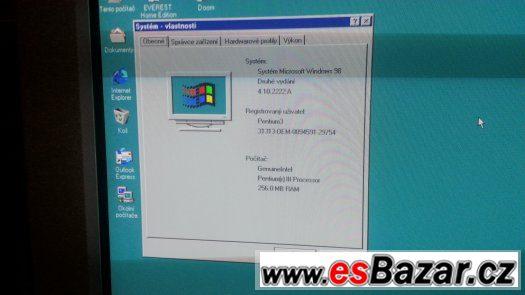 intel Pentium 3, CRT Monitor 19