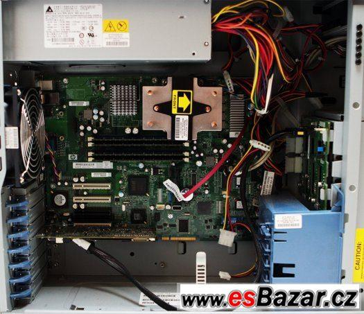 Serverové PC HP, Quad Core Xeon, 8GB, 1000GB