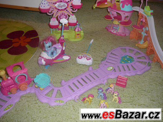 Lunapark Pony+kolotoč Hasbro
